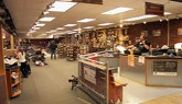 Photo of the showroom at American Harley-Davidson