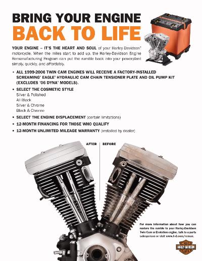 Bring your engine back to life with OEM parts for sale at American Harley-Davidson